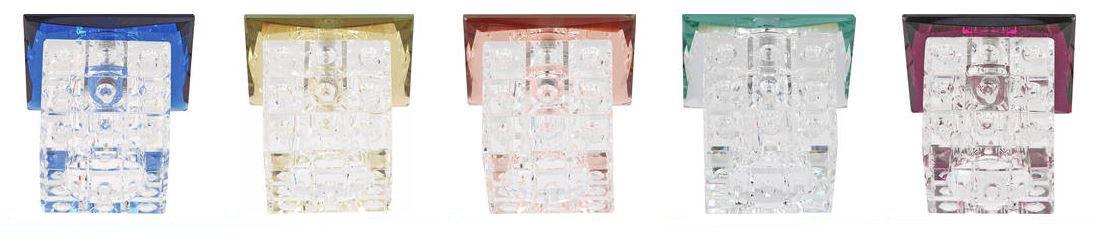 Светильник встраиваемый Horoz Lilyum  плафон прозрачный
