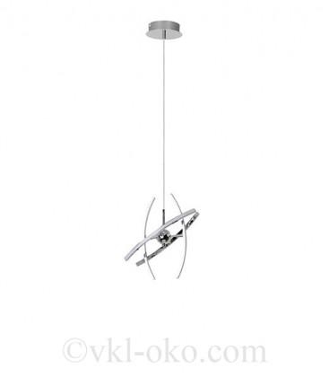 Светодиодная люстра Horoz OPTIMA-12 12W хром