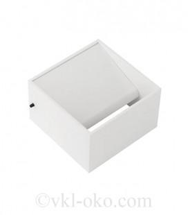 Настенный светодиодный светильник Horoz TRUVA 8W белый