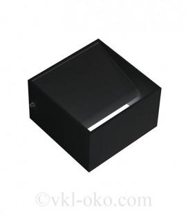 Настенный светодиодный светильник Horoz TRUVA 8W черный
