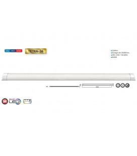 Светодиодный светильник Horoz накладной Tetra 36W 120см 4200К/6400К