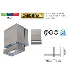 Фасадный светильник GARDENYA-1 GU10 35W