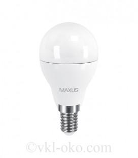 LED лампа MAXUS G45 6W теплый свет E14
