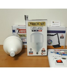Лампа светодиодная LED Horoz TORCH-50 E27 6400K