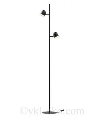 Спотовый светильник MAXUS MSL-02F 2x4W 4100K черный
