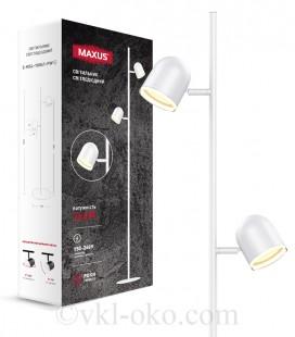 Спотовый светильник MAXUS MSL-01F 2x4W 4100K белый