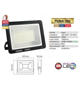 Прожектор LED HOROZ PUMA-300 300W холодный белый свет