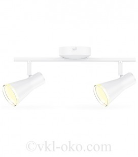 Спотовый светильник MAXUS MSL-02C 2x4W 4100K белый