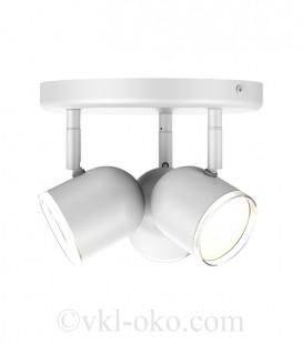 Спотовый светильник MAXUS MSL-01R 3x4W 4100K белый