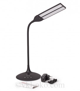 Умная лампа MAXUS DKL 8W (трансформ., аккум., таймер, димм., темп.) белая