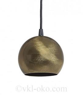 Светильник подвесной Atmolight Bowl GU10 P115 BrushGold