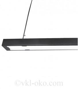 Потолочный подвесной светильник Atmolight Work G LED 1150 40W Black