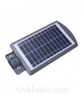 LED уличный светильник на солнечной батарее UNILITE 40W 6500К (VS-109546)
