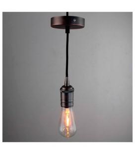 Светильник винтажный подвесной TESLA Е27