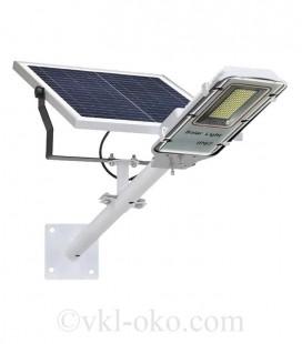 LED светильник на солнечной батарее VARGO 60W 6500К с выносной панелью