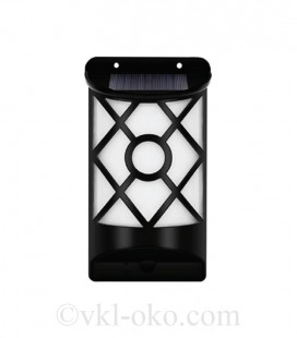 LED настенный светильник на солнечной батарее VARGO 3W пламя