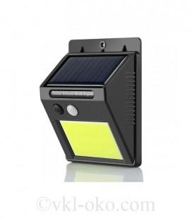 LED настенный светильник на солнечной батарее VARGO 5W COB