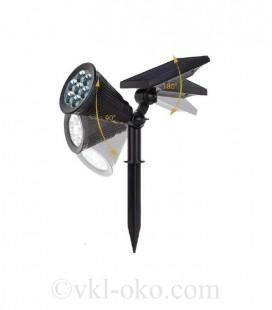LED светильник в землю на солнечной батарее VARGO 3W SMD