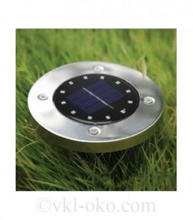 LED светильник в землю на солнечной батарее VARGO 5W пламя
