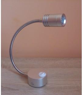 Настенное светодиодное бра TURNA 3W 4200K серебро