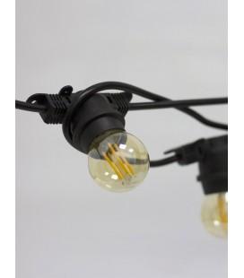 Уличная гирлянда Lemanso LMA501 20 ламп Е27 длин. 10 м купить днепр