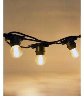 Уличная гирлянда Lemanso LMA501 20 ламп Е27 длин. 10 м