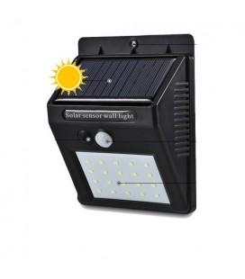 Настенный LED светильник на солнечной батарее VARGO 6W с датчиком движения