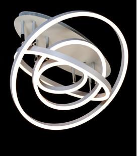 Потолочная LED-люстра с диммером 55010/3BK LED 3color 100W