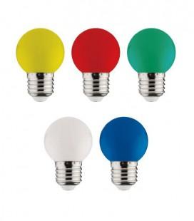 Светодиодная лампа шарик RAINBOW 1W E27 белая