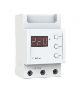 Цифровой однофазный бытовой вольтметр ZUBR V1