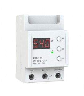 Однофазное реле тока ZUBR I63 13900 ВА