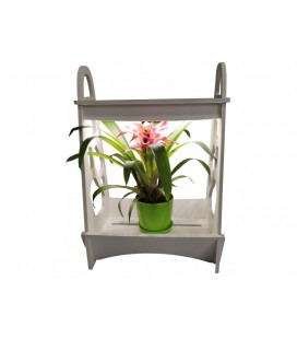 Светодиодная Фитолампа для растений «Мини сад» Luxel 14W