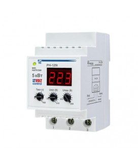 Реле напряжения РН-125Т «Volt Control» 25А, 5.7 кВт