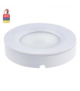Светодиодный светильник потолочный врезной - подвесной круг 3W