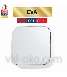 Выключатель белый 1 кл. EVA
