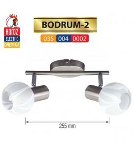 Настенно-потолочный светильник 2 плафона *E14