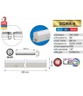 Линейный светодиодный светильник балка SİGMA-4 6400К купить