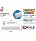 Линейный LED светильник балка SİGMA-10 6400К