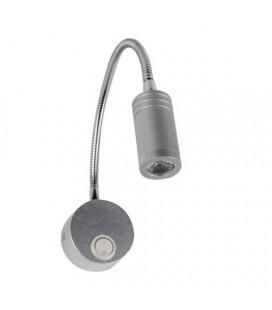 светодиодная лампа бра для картин и зеркал TURNA 3W 4200K серебро