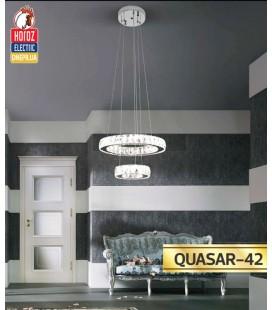 Люстра двухуровневая LED 42W QUASAR-42 (хрусталь) купить
