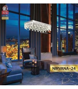 Декоративная светодиодная люстра NIRVANA 24W 4000К купить днепр