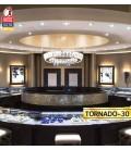 Декоративная светодиодная люстра TORNADO 30W 4000К купить