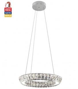 Декоративная светодиодная люстра TORNADO 30W 4000К