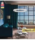 Декоративная светодиодная люстра TORNADO 40W 4000К