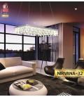 Подвесная светодиодная люстра NIRVANA 24W купить