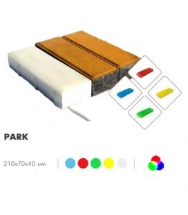 Светильник светодиодный LED-Камень «PARK» IP68 RGB (пульт) 40 мм
