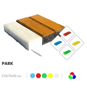 Светильник тротуарный LED-Камень «PARK» IP68 RGB 40 мм