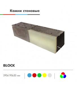 Светильник стеновой светодиодный LED-Камень «BLOCK» 30 мм