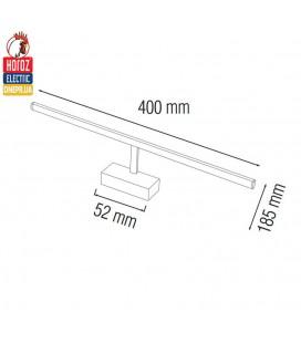 Подсветка светодиодная для зеркал и картин Horoz ANKA 8W 4200K хром купить