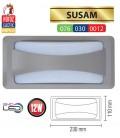 Светильник LED фасадный Horoz SUSAM 12W 4200K IP65